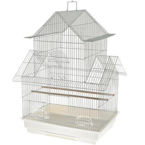 Komplettes Käfigmodell Vicenza für Kanarienvögel Fuss-bird