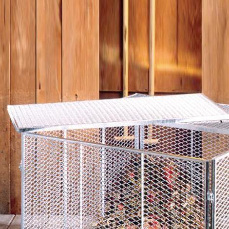 Komposter-Zubehör Deckel bzw. Boden 2-teilig 80 x 80 cm 001124