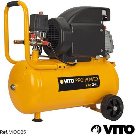 Kompressor 24 Liter 8-12 bar 230V VITO