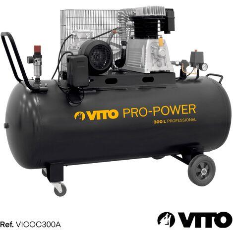 Kompressor 300 Liter 10-15 bar 400V 400 L/min VITO