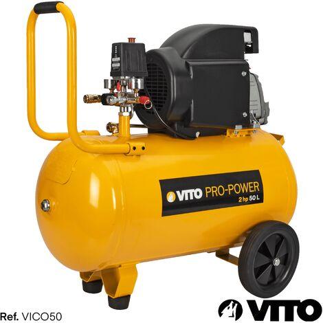 Kompressor 50 Liter 8-12 bar 230V VITO
