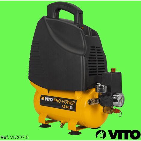 Kompressor 6 Liter 8 bar 230V Ölfrei VITO