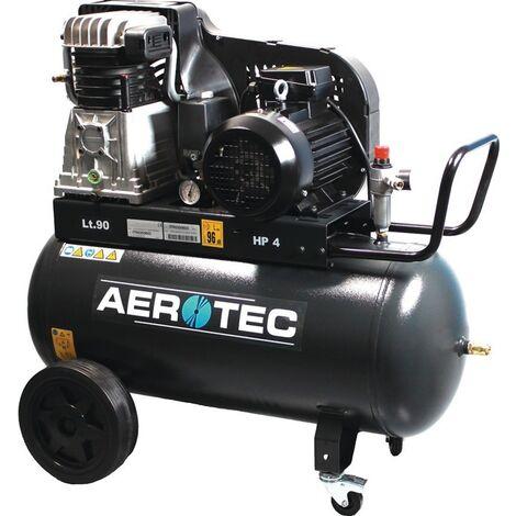 Kompressor 650-90-15bar 420l/min 3,0 kW 90l AEROTEC