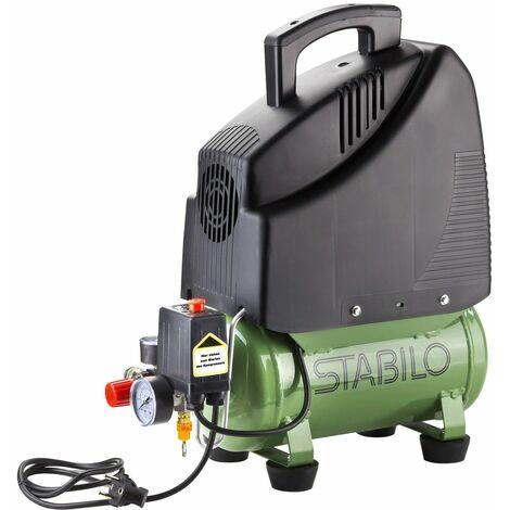Kompressor Druckluftkompressor 6l 8 bar Druckluft Kolbenkompressor 230V ölfrei