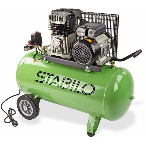 Kompressor Kolbenkompressor 100l 10 bar Druckluftkompressor 450/10/100 230V