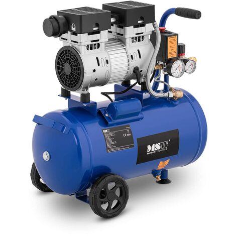 Kompressor ölfrei Druckluft Kompressor Luftdruck Luftkompressor 750 W 24 L
