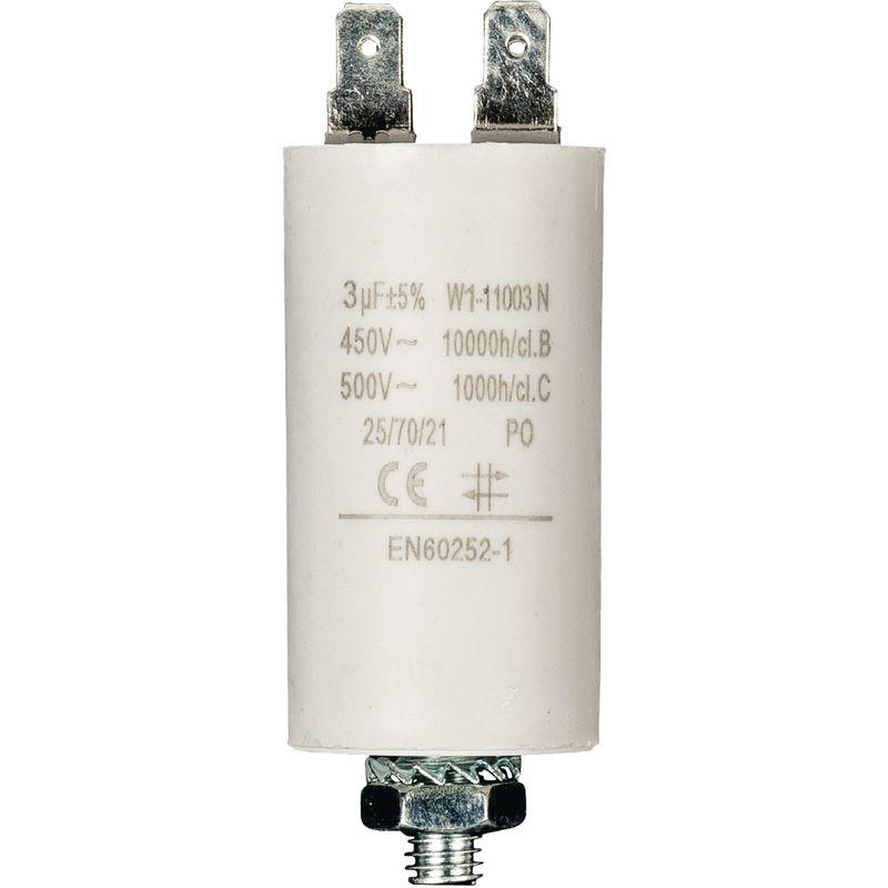 Ø x H Weltron 1 St 25 MKP-Folienkondensator radial bedrahtet 1 µF 500 V//AC 5/%