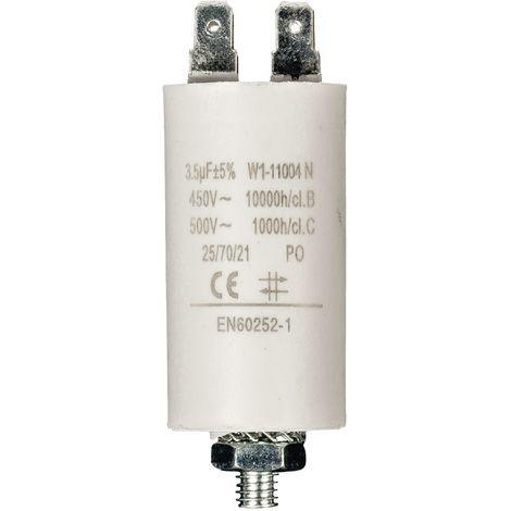 Kondensator Motorkondensator Anlaufkondensator Arbeitskondensator 450V 3.5 µF / 3,5 uF
