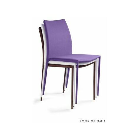 Konferenzstuhl Selina | HxBxT 860 x 440 x 530 mm | Violett | Certeo Bürostuhl