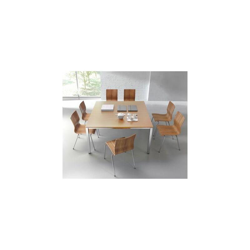 Konferenztisch | Quadratisch | HxLxB 720 x 1400 x 1400 mm | Buche-Dekor