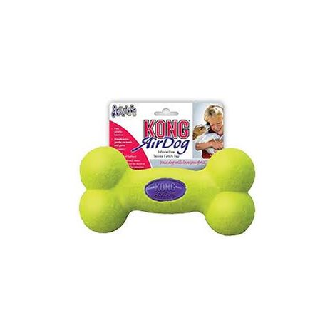 Kong air squeaker bone large 1 jouet
