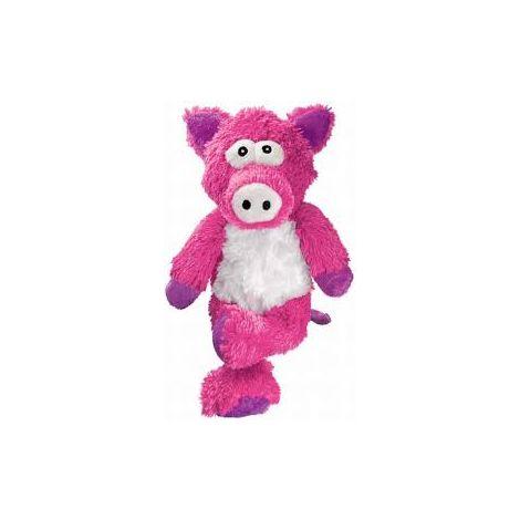 Kong cross knots pig small/med 1 jouet