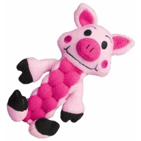 Kong pudge braidz M/L pig 1 jouet