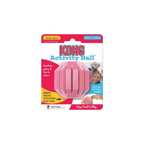 Kong puppy activity ball mediu m1 jouet