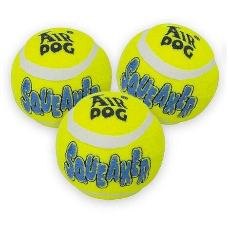 Kong squeaker tennis ball small pack 3un
