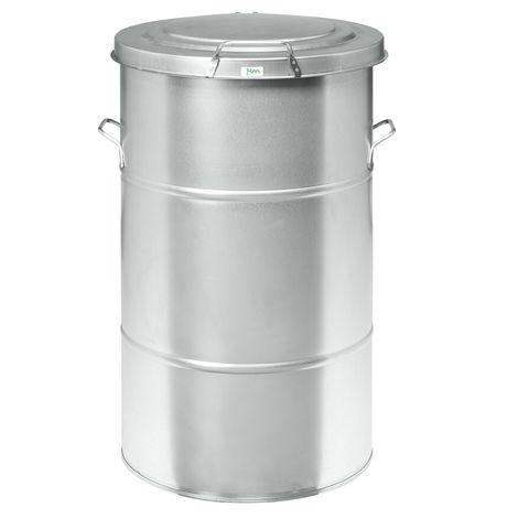 Kongamek Abfallbehälter aus Blech 70-160l Volumen