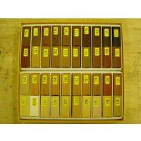 Konig Soft Wax Filler Stick Set 130 Mixed Wood Colours ( 40 x 4cm stick )