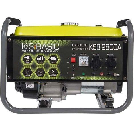 Konner & Sohnen 2800W Groupe électrogène essence KSB 2800A