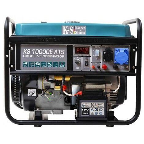 Konner & Sohnen groupe électrogène démarreur élec KS10000E-ATS 8KW