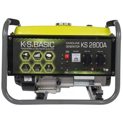 Konner & Sohnen Groupe électrogène essence 2800W KS 2800A