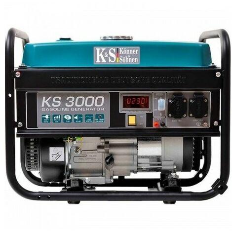 Konner & Sohnen Groupe électrogène essence 3000W KS 3000