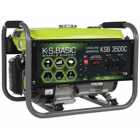 Konner & Sohnen groupe électrogène essence AVR 3000W KSB 3500C