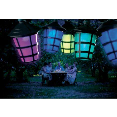 Konstsmide 4162-500 LED Party-Lichterkette Kalt-Weiß Anzahl Leuchtmittel: 20 S43343