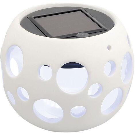 Konstsmide Genova klot 7801-200 Lampada solare da tavolo Ambra Bianco