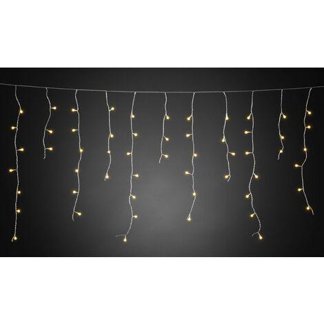 Konstsmide Guirlande lumineuse stalactites, effet chute de neige pour l'extérieur 24 V 200 LED N/A S064411