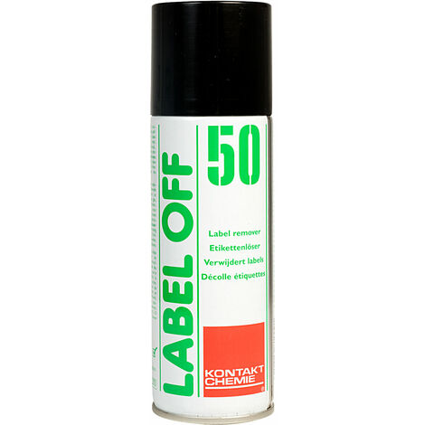 Kontakt-Chemie 208106091230 Label Off 50 Label Remover 200ml
