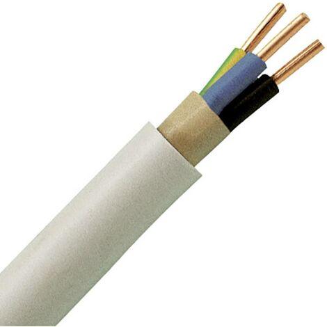 Kopp 150825001 Mantelleitung NYM-J 3G 1.50mm² Grau 25m S949721