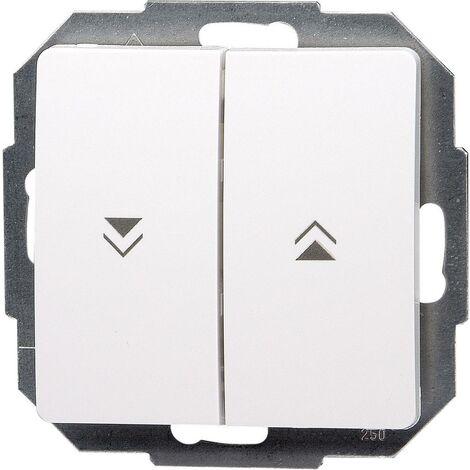 Kopp Einsatz Jalousie-Schalter Paris Weiß 651502087 S35520