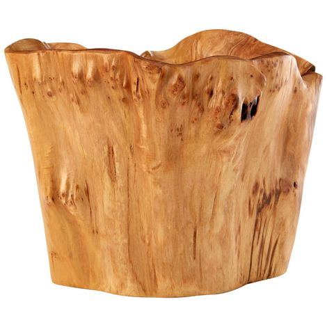 Kora Deep Bowl, Natural Cedarwood