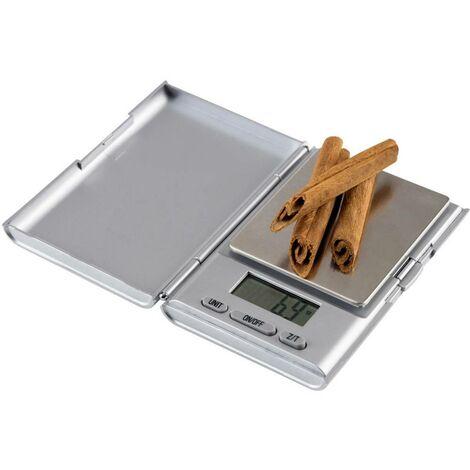 """main image of """"Korona Anja Balance de poche Plage de pesée (max.) 500 g Lisibilité 0.1 g argent (mat)"""""""
