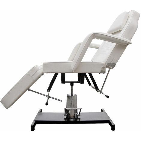 360° Massagestuhl Kosmetikstuhl Spa Kosmetikliege Behandlungsliege Gelb - 15994-004