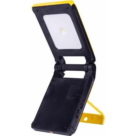 Kosnic 10W LED Rechargable Battery Powered Portable Site Lamp - Daylight - KPWLLS10Q165