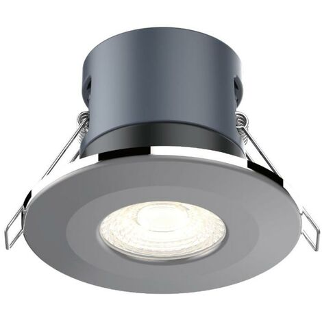 Kosnic Mauna White Dimmable 6W LED Downlight - Cool White - KFDL06DIM/S40-WHT