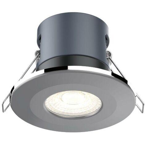 Kosnic Mauna White Dimmable 6W LED Downlight - Warm White - KFDL06DIM/S30-WHT