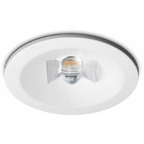 Kosnic White 3W LED Non-Maintained Emergency Downlight (Corridor Version) - Daylight - EDWL03C20/COR-WHT