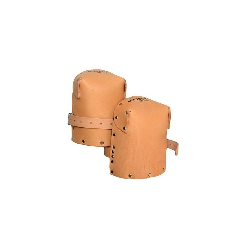 Image of KP299 Heavy-Duty Leather Thick Felt Knee Pads - Kunys