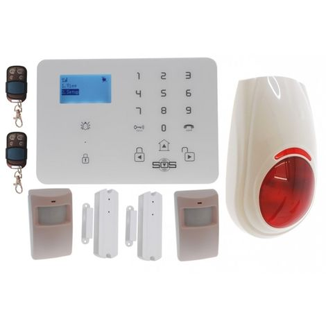 KP9 3G or GSM Alarm Kit B Plus