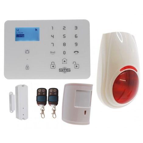 KP9 3G or GSM Pet Friendly Alarm Kit C Plus