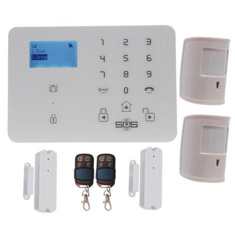 KP9 3G or GSM Pet Friendly Alarm Kit D