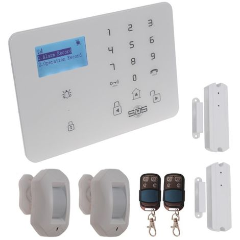KP9 3G or GSM Pet Friendly Alarm Kit H