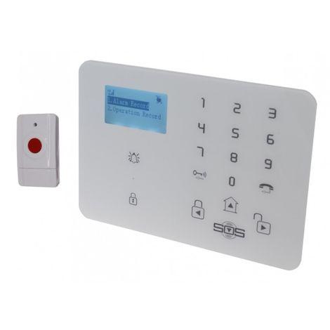 KP9 3G or GSM Wireless 100 metre Staff Panic Alarm with 1 Panic Button