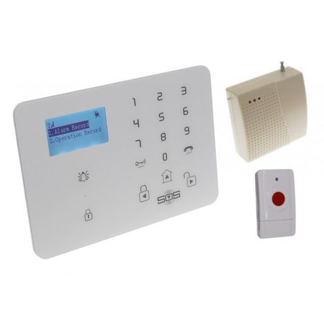 KP9 3G or GSM Wireless 200 - 400 metre Panic Alarm - Signal Booster & 1 x Panic Button