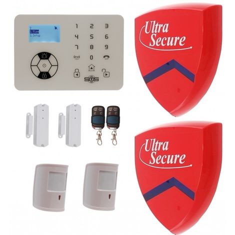 KP9 Bells Only Pet Friendly Wireless Alarm Kit F with 2 x Dummy Alarm Boxes [005-4480]