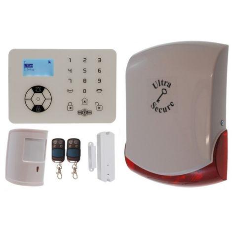 KP9 Bells Only Pet Friendly Wireless Burglar Alarm Kit C Pro [005-4400]