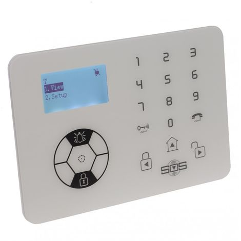 KP9 Bells Only Wireless Alarm Control Panel [005-4310]