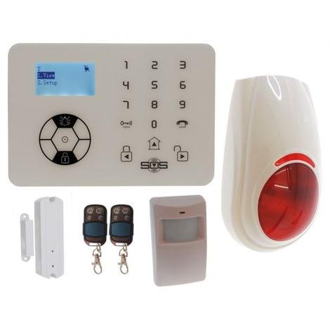 KP9 'Bells Only' Wireless DIY Burglar Alarm Kit A Plus [005-4330]